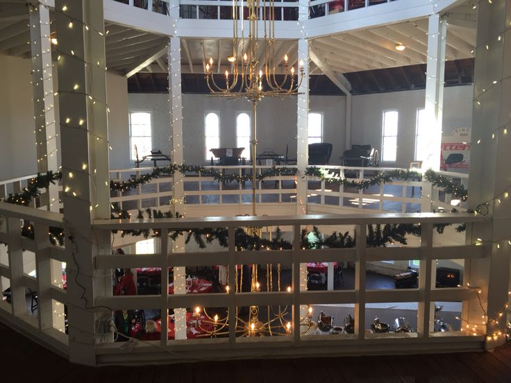 Inside the Round Barn at The Red Mile - Lexington, KY