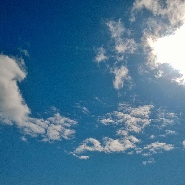 É bom estar nas nuvens!! (ou não) rs
