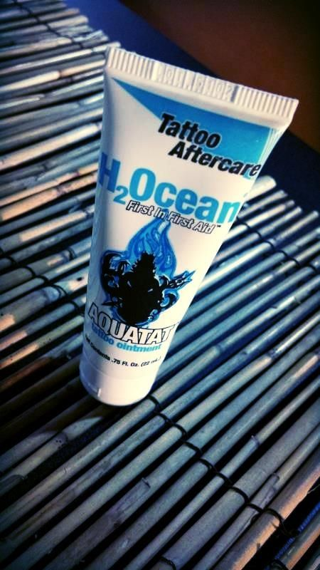 H2Ocean's Aquatat is the first ointment created to effectively protect your  tattoo with its pharmaceutical grade