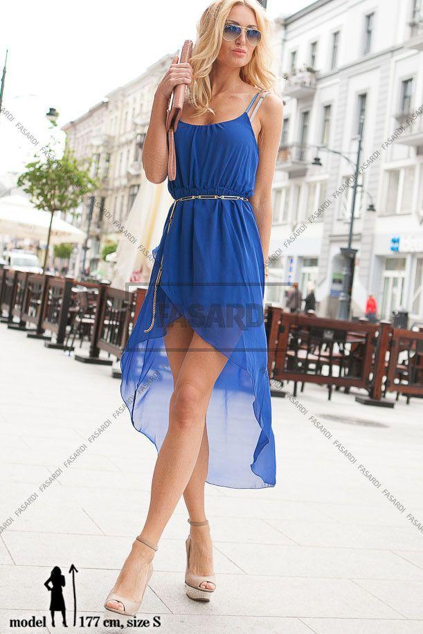 Sukienka chabrowy | NOWOŚCI Odzież damska \ sukienki WYPRZEDAŻ
