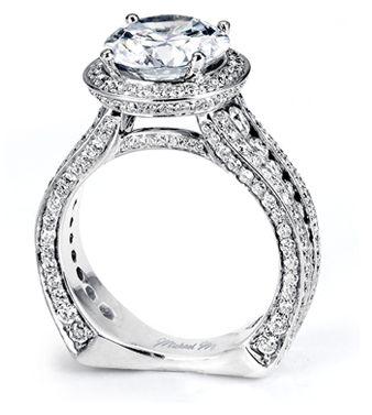 26 best Michael M images on Pinterest Diamond engagement rings