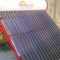 Solar Water Heater as sold by Google Home Tech. Find this and other products on http://www.nepalb2b.com/company/google-home-tech