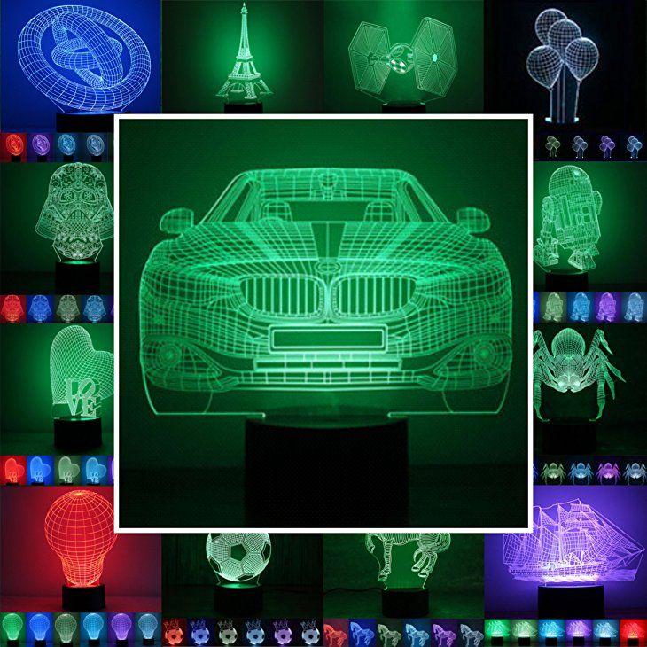 Werbung Tolles Deko Highlight Im Kinderzimmer 3d Lampe 3d Leuchte 3d Led Stimmungslicht 7 Verschiedene Farben Wahlbar A Kinder Lampen Fussball Lampe Led