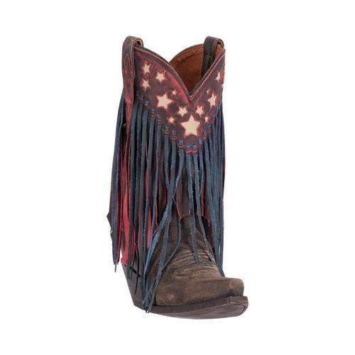 Women's Dan Post Boots Liberty Fringe Cowgirl Boot DP3531