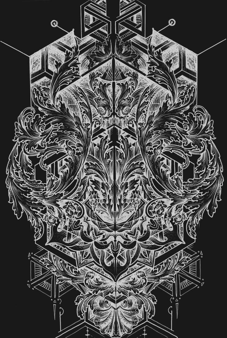 #Broslavskiy #tattoo #geometry #sketches