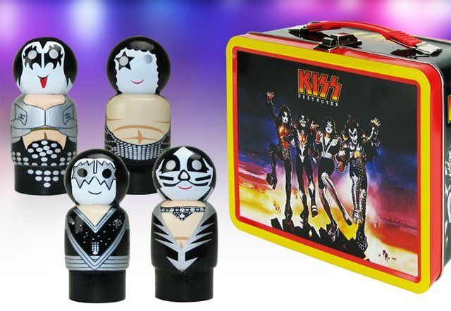 Exclusive Look at New KISS Toys from Bif Bang Pow!