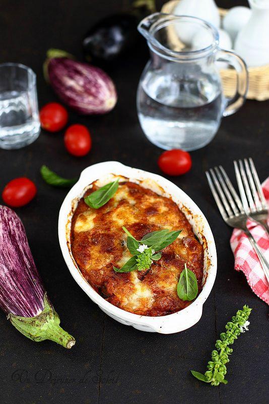 Un dejeuner de soleil: Parmigiana d'aubergines à la sicilienne
