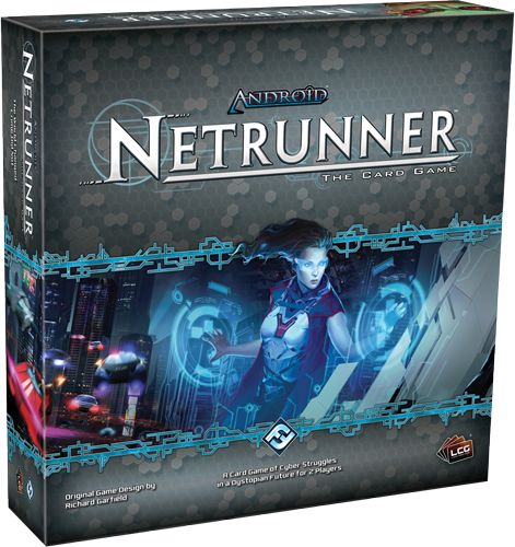 Fantasy Flight Games - Android: Netrunner The Card Game - I want this!