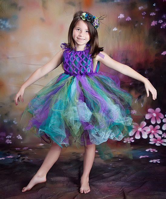 Enchanted Fairyware Couture & More Purple & Blue Peacock ... - photo#35