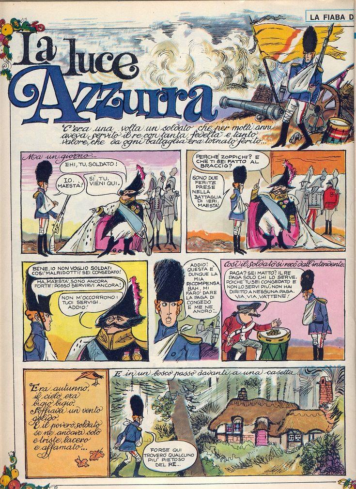 La luce azzurra 01Tratto dal nº 1 del 5 gennaio 1969 del Corriere dei Piccoli