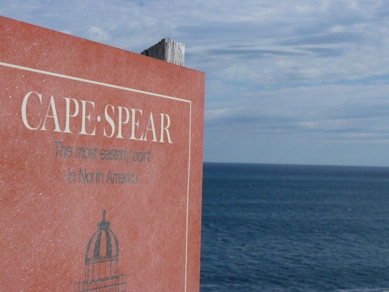 Cape Spear the Furthest East Point in North America. St. John's, Canada.