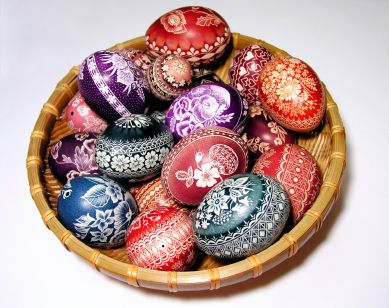 Learn About Polish Culture With These Great Photos: Easter Eggs from Poland - Pisanki