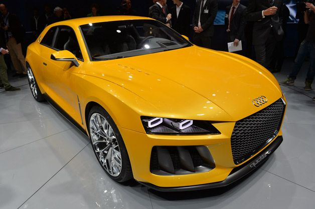 Audi Sport Quattro Concept. Woah.... this is garbage from Audi. Are they about to become the Nokia of cars?!!