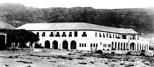 The Marine Hotel, Hermanus  grand old lady being transformed (1920s)