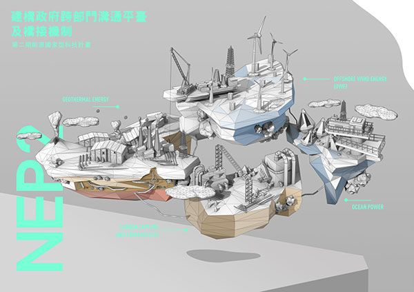 National Energy Program-Phase II Maya Animation 3d model c4d