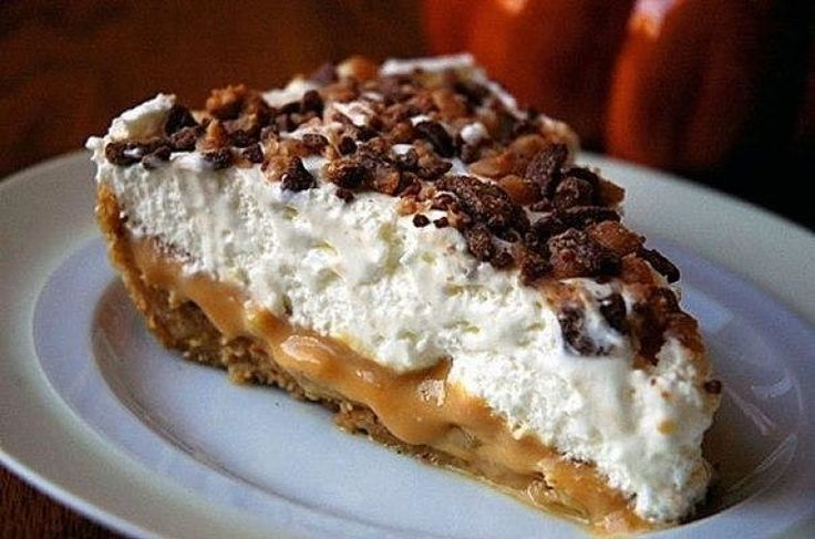 Восхитительный банановый торт «Баноффи» без выпечки | Самые вкусные кулинарные рецепты
