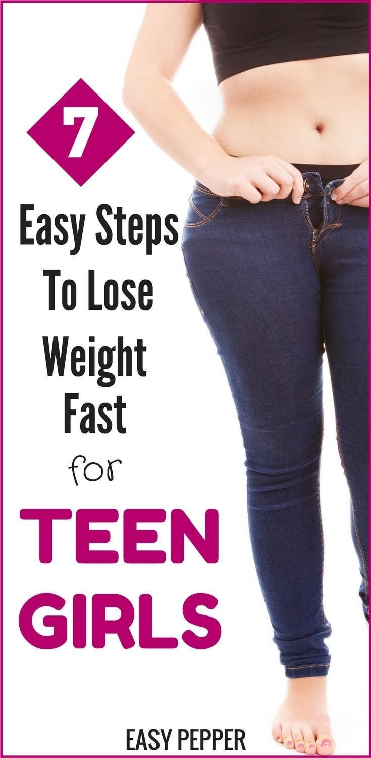 7 Easy Steps To Lose Weight Fast For Teen Girls Sydney Lose 15