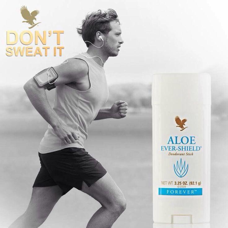 No stains, no aluminium, Yes! http://myaloevera.se/johanbystrom/sv/shop/category/traning/product/aloe_ever_shield_deodorant