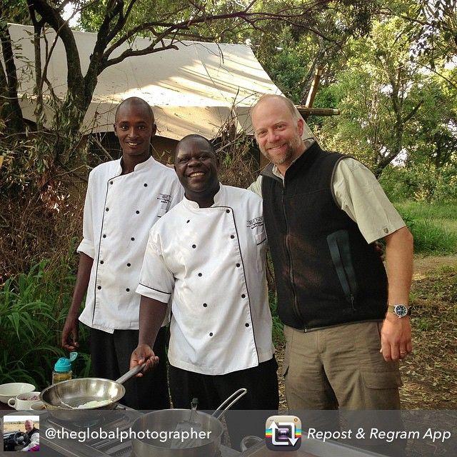 """""""Best breakfast on the Mara! Thanks @theglobalphotographer"""""""