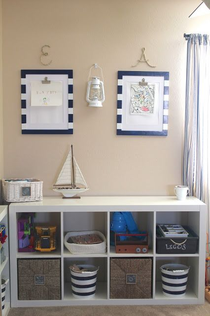 -everywhere beautiful-: Nautical Playroom Reveal!