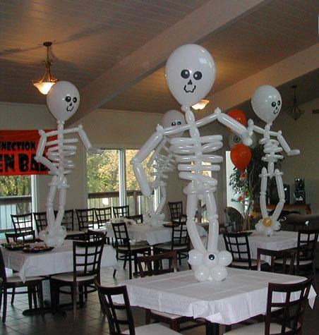 Хэллоуин | Оформление шарами
