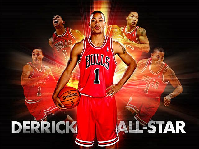 photo for wallpaper d rose | Derrick Rose named 2010 NBA All-Star