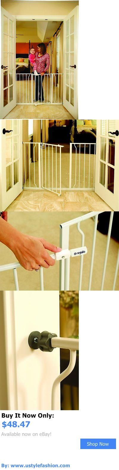 Baby Safety Gates: Baby Safety Gate Toddler Pet Gate Walk Thru Easy Open Extra Wide BUY IT NOW ONLY: $48.47 #ustylefashionBabySafetyGates OR #ustylefashion