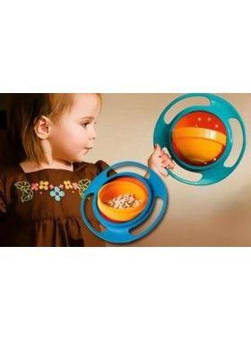 Universal Gyro Bowl!! To έξυπνο μπωλ για παιδιά, που περιστρέφετε 360 μοίρες!!