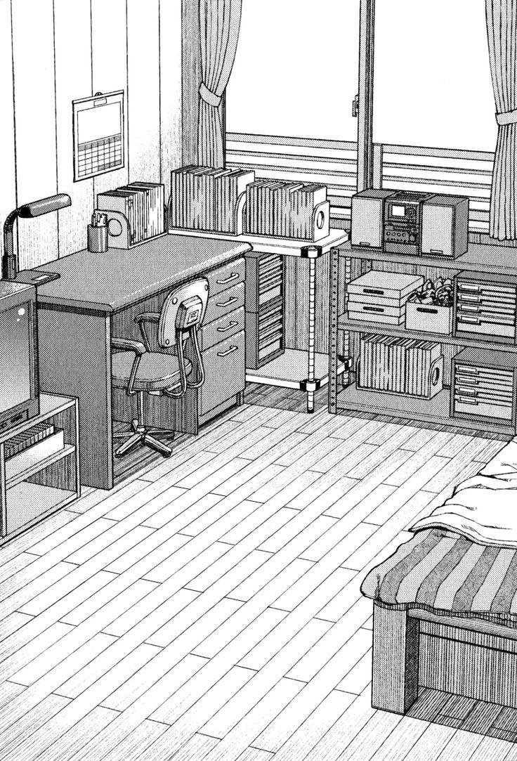 Perspective of Bedroom  ::  by Hamada YOSHIKAZU