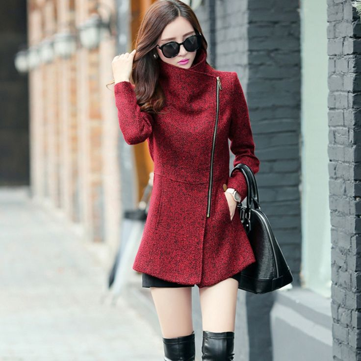Cheap jacket cloth, Buy Quality coat duck directly from China coat embroidered Suppliers:             New Europe 2016 Autumn Winter Women's Temperament Woolen Jackets Coats Female Casua