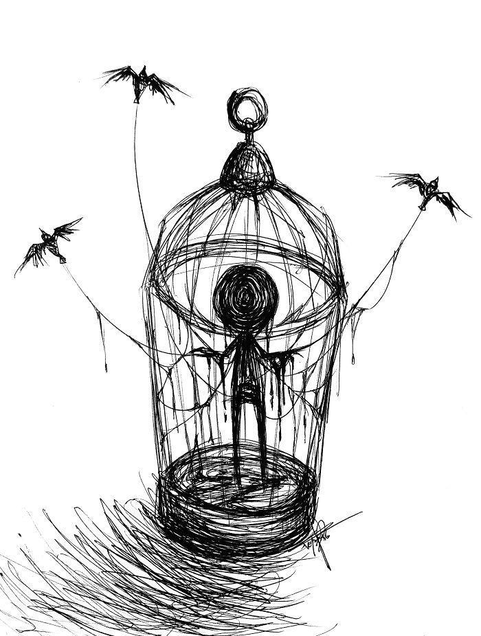 Diese Illustratorin bricht das Tabu der Depression: Entdecken Sie ihre 15 berührendsten Zeichnungen zur Krankheit