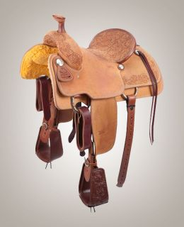 The Relentless line is adding this new Relentless roughout team roping saddle, made in partnership with Trevor Brazile. The Relentless roughout is made by those who know good saddles.