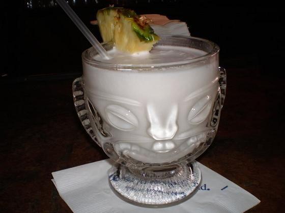 Pina Colada Recipe served at Ohana in Polynesian Resort at Disney World