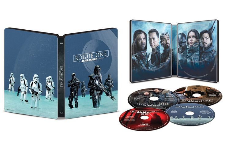Rogue One : A Star Wars Story- Blu- Ray Steelbook