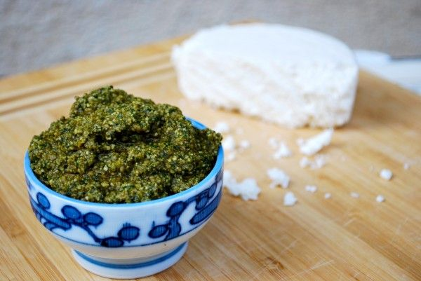 Cilantro Pesto: replace the basil with cilantro, the pine nuts with ...