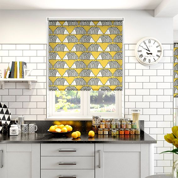 Kitchen Blinds And Shades: Kitchen Window Blinds, Country Roman Blinds And