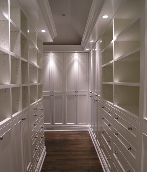 closet lighting this one needs ambient light using only down light creates harsh shadows ambient lighting creates