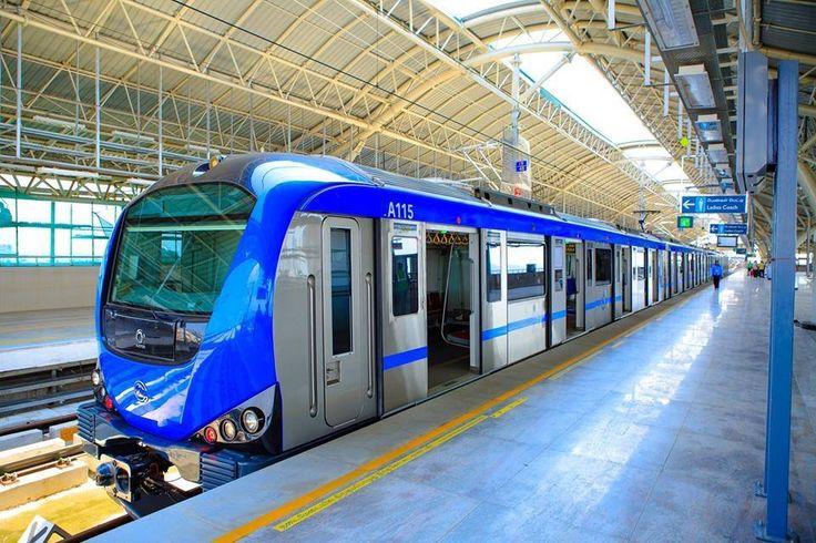 Chennai metro.