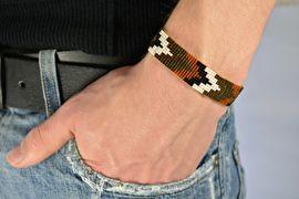MIYUKI armband voor heren