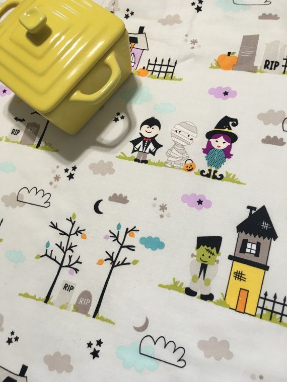 Wonderful Halloween Dish Mat Kitchen Towel Costumes By MakingSomethingHappy
