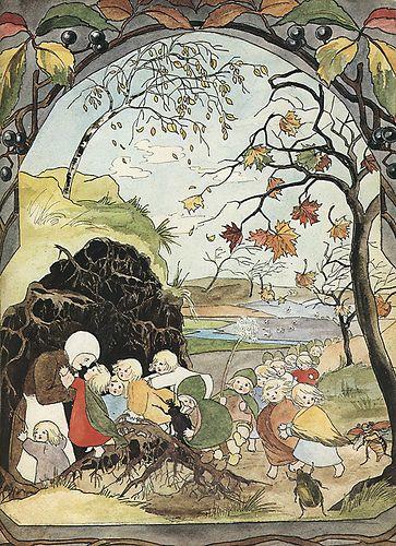Sibylle Von Olfers - The Root Children - Page 9 - Autumn