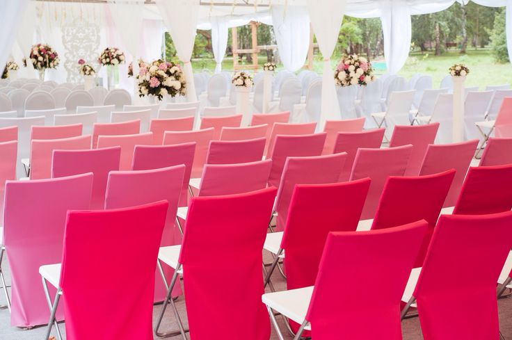 Необычное цветовое решение декорирования зала Церемонии регистрации Церемониирегистрации