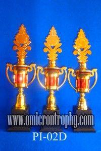 Daftar Harga Trophy Plastik-PI-02D Jual Trophy Piala Penghargaan, Trophy Piala Kristal, Piala Unik, Piala Boneka, Piala Plakat, Sparepart Trophy Piala Plastik Harga Murah