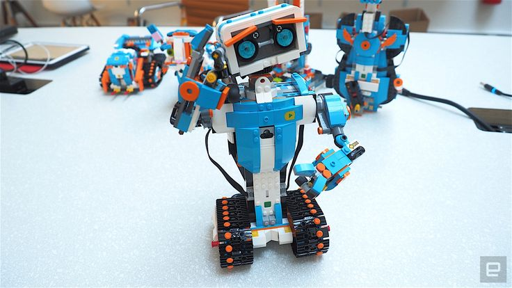 You can even make robots out of your existing Lego collection.  https://www.engadget.com/2017/01/04/lego-boost/