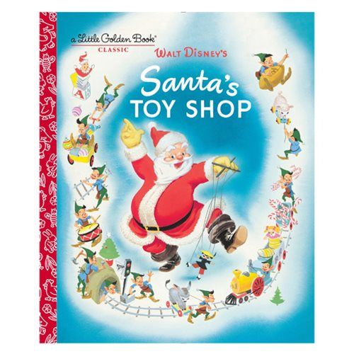 Santa's Toy Shop Little Golden Book - Penguin Random House - Disney - Books at Entertainment Earth