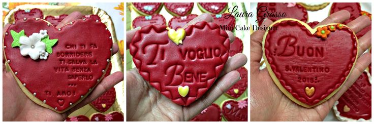 Heart cookies for 2016 St. Valentine's Day ...