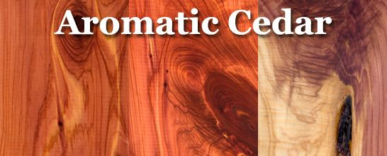 Aromatic cedar (eastern red cedar)