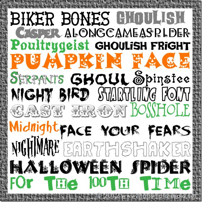 20 Free Halloween Fonts & How to Download Them
