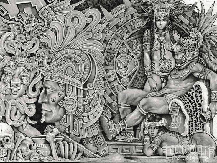 Aztec Pride | Mi Cultura-Mi Orgullo | Pinterest | Aztec ...