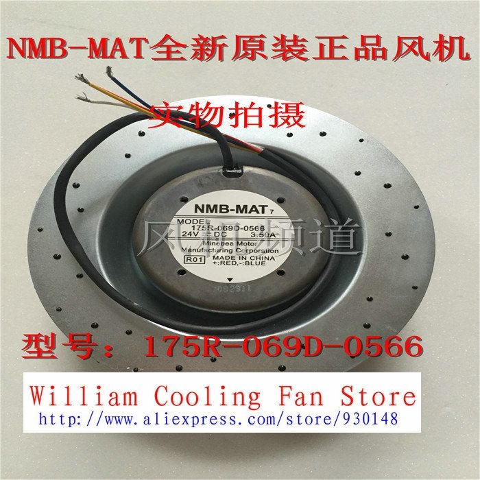 342.00$  Watch more here  - New Original NMB 175R-069D-0566 24V 3.5A for MITSUBISHI inverter centrifugal fan